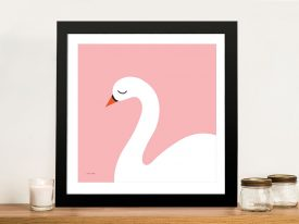 Buy a Swan Framed Print Great Gifts for Girls