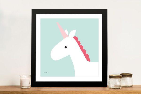 Buy Unicorn Framed Nursery Wall Art