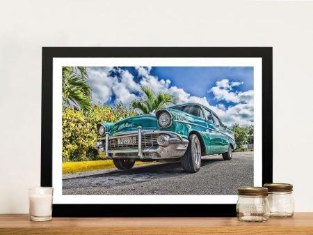 Buy a Framed Print of a Vintage Chevrolet