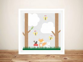 Buy Woodland Animals ll Cute Kids Wall Art