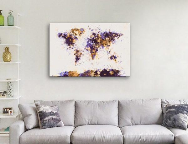 Buy Michael Tompsett Map Art Gift Ideas AU