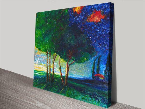 Chiara Magni Finger Painted Art for Sale AU