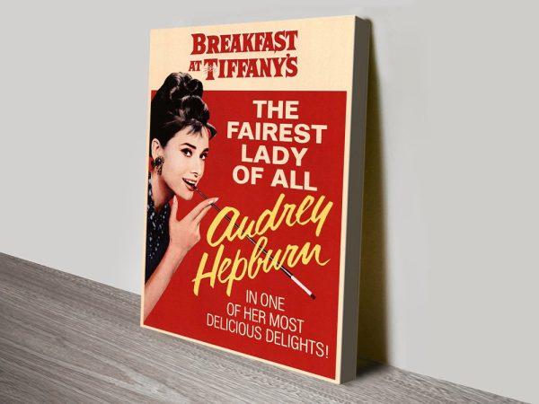 Buy Affordable Audrey Hepburn Wall Art AU
