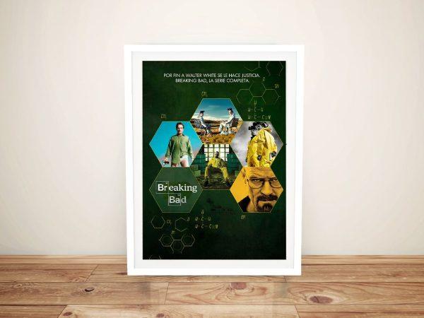 Buy a Spanish Breaking Bad Poster Print