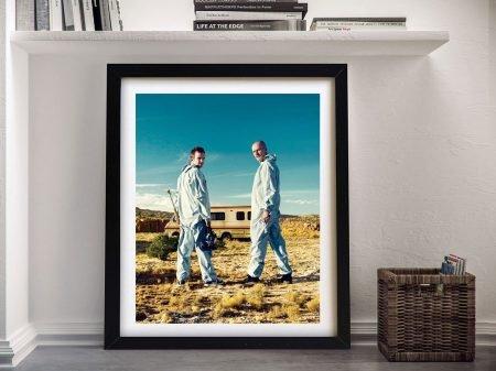 Buy a Breaking Bad Framed Poster Print