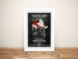 Buy a Framed Ghostbusters Poster Print