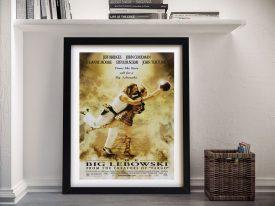 Buy a Big Lebowski Canvas Poster Print