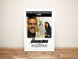 Buy a Canvas Movie Poster Print for The Shining