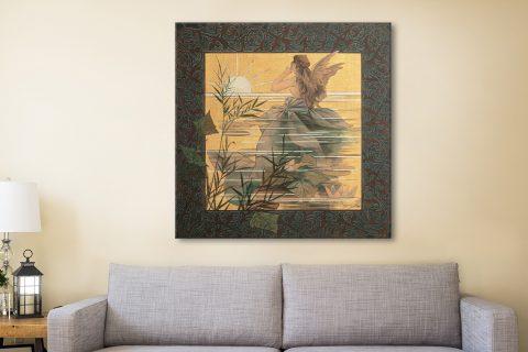 Buy a Pretty Alexandre de Riquer Canvas Art AU
