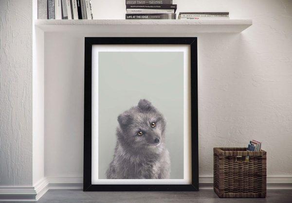Buy a Print of Baby Arctic Fox Kids Wall Art
