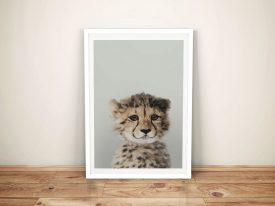 Buy a Gorgeous Baby Cheetah Portrait Print