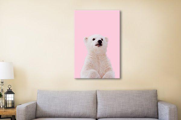 Buy Baby Polar Bear Artwork Unique Gifts AU