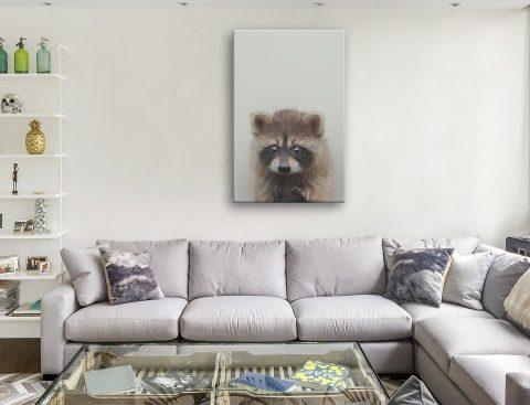 Buy a Sweet Baby Raccoon Print Gift Ideas AU