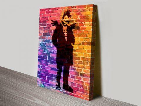 Buy Punk Angel Dayglo Graffiti Wall Art AU