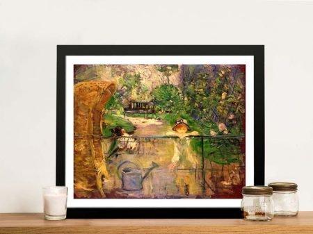 Buy Berthe Morisot's Chair in the Garden Art
