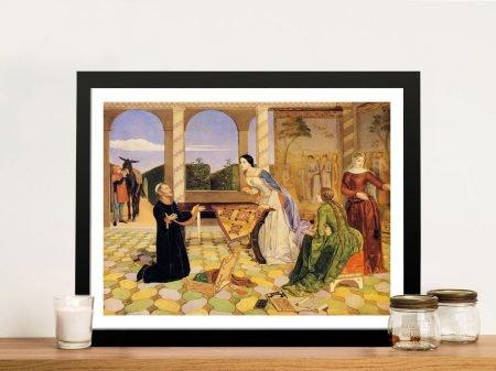 Buy Berengaria's Alarm a Framed Collins Print