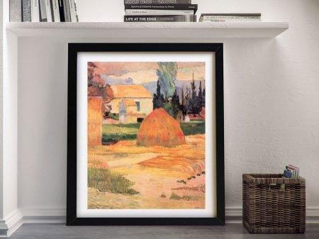 Buy Farmhouses in Arles Gauguin Canvas Art