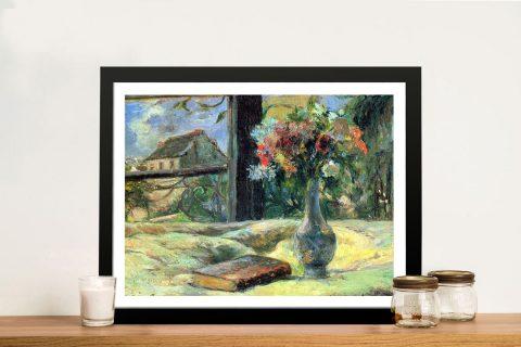 Buy a Print of Gauguin's Flower Vase in Window