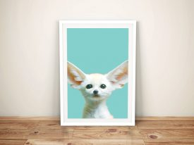 Buy Adorable Fennec Fox Cub Framed Art