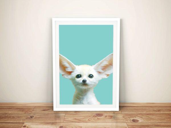 Buy Adorable Fennec Fox Cub Framed Art