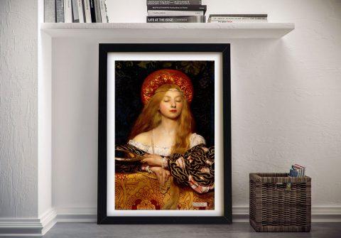 Buy a Framed Print of Vanity by Cadogan
