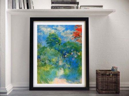 Buy Gardenpath in Mezy Colourful Framed Art
