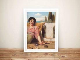 Buy A Quiet Pet a Classic Print by Godward