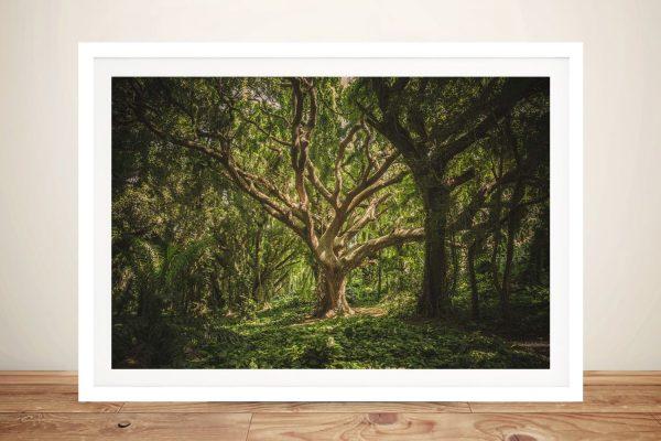 Buy Hawaii Treescape Ready to Hang Wall Art