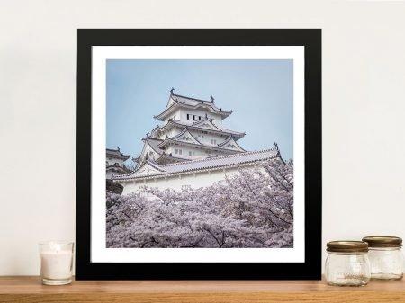Buy a Framed Print of Himeji Castle in Japan