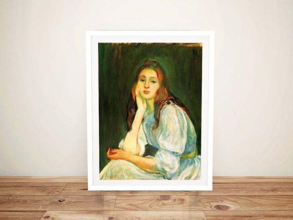 Buy Julie Dreaming a Quality Classic Art Print