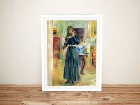 Buy a Julie Playing the Violin Portrait Print