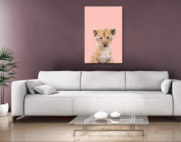 Buy Ready to Hang Baby Animal Artwork Online