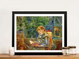 Buy Little Girl Reading Ready to Hang Artwork