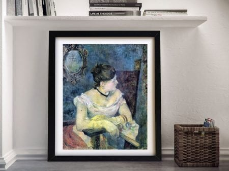 Buy a Madame Gauguin Stretched Canvas Print
