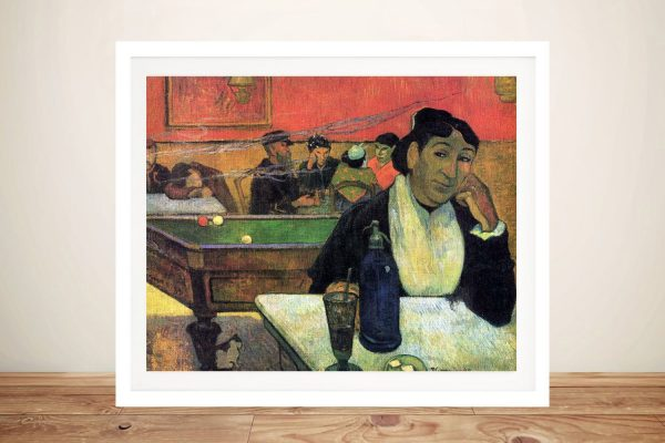 Buy a Classic Art Print of Madame Ginoux in Cafe