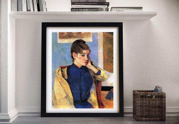 Buy a Print of Madeleine Bernard by Gauguin