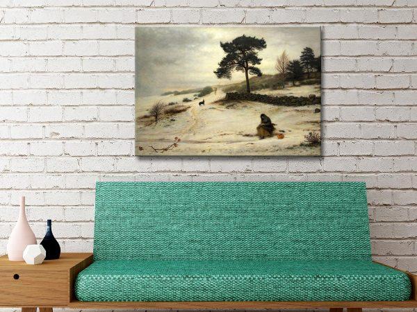 Buy Affordable Winter Landscape Classic Art