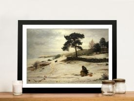 Buy Blow Blow Thou Winter Wind Canvas Art