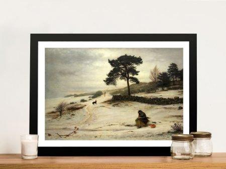 Buy Blow Blow Thou Winter Wind Canvas Art