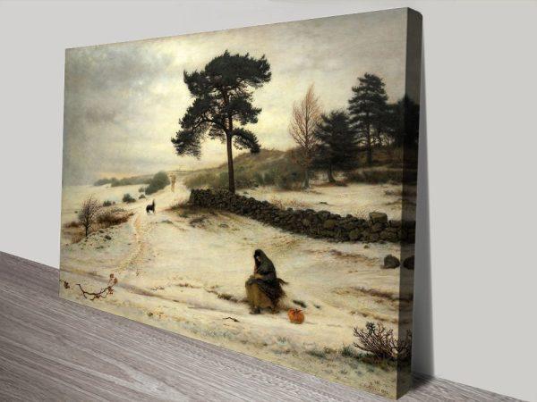 Buy Beautiful Millais Landscape Canvas Prints