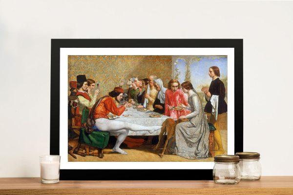 Buy a Ready to Hang Millais Print of Isabella