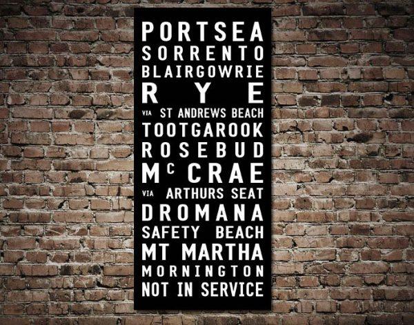 Buy an Affordable Portsea Tram Scroll Online
