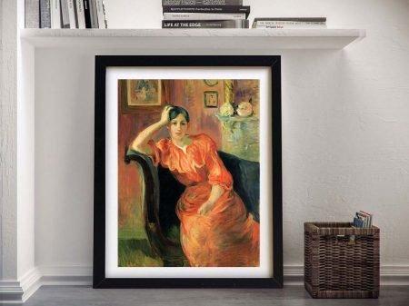 Buy Portrait of Jeanne Pontillon Framed Art