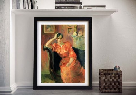 Buy Portrait of Jeanne Pontillon Framed Art