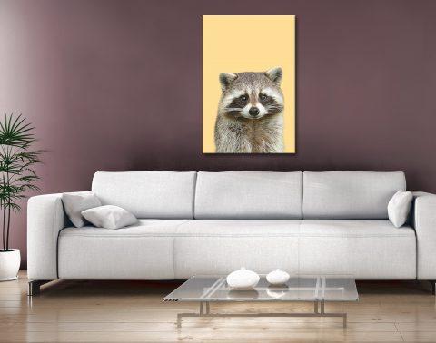Buy a Portrait of a Raccoon Kids Art Ideas AU
