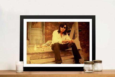Sixto Rodriguez Sugarman Framed Wall Art
