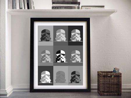 Buy Warhol Inspired Storm Trooper Art