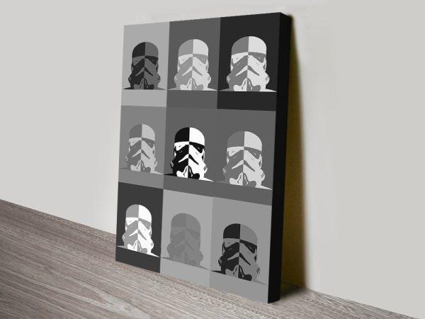 Star Wars Pop Art in Greyscale for Sale Online