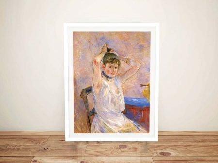 Buy a Fine Art Print of The Bath by Morisot