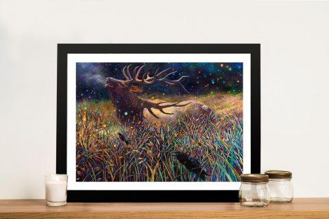 Buy-Wapiti-Bull-Elk-Painting-Print-by-Iris-Scott